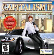 CAPITALISM II 2 - Tycoon Empire Building Sim - PC Game Windows XP,7,8,10* NEW CD