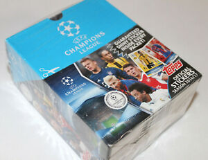 Topps Champions League 2016/2017 16/17 - 1 X Display Box 50 Bags Packets