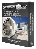 Learn Refrigeration & Air Conditioning - 4 Manual Training Course CD Book Guide