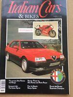 Italian Cars Magazine - July 1993 - Ducati 888, Alfa 164, Fiat 124 Abarth