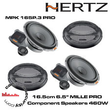 """Hertz MILLE Mpk 165P.3 Pro-Altavoces de componentes de coche 16.5cm 6.5"""" 460W Potencia Total"""
