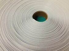 """10' Vinyl 1.5"""" Chair Strapping Outdoor Patio Furniture Repair White 1 1/2"""" #201"""