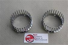 Chrome Custom Cadillac Taillight Crown Bezels Harley Bike Hot Rat Rod Frenched