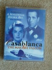 CASABLANCA & THE MALTESE FALCON  -  AUDIO BOOKS   ( 1 CASSETTE )