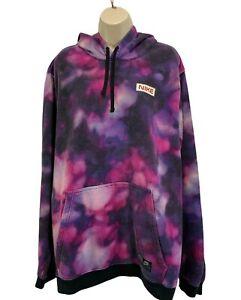 Nike Womens Hoodie Size XXL Sweatshirt Purple Colorful