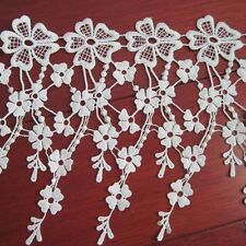 Pop Lace Trims Floral Embroider Trimmings Elegant Curtain Edge Sewing Applique