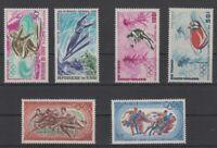 Tschad 3 Sätze Olympia / Olympiade 1968 / 1972  postfrisch mnh  **