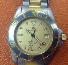 Vintage,Men's ZODIAC Red Dot Professional Divers Swiss Watch Brand new movement