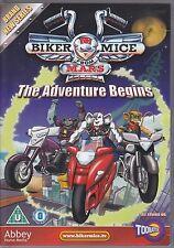 Biker Mice from Mars - The Adventure Begins UK R0 DVD