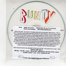 (FU449) Bunty, We Are Here - 2014 DJ CD