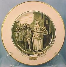 Adams Cries of London Luncheon Plate Turnips & Carrots Ho Vintage Porcelain