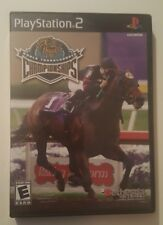 Breeders' Cup World Thoroughbred Championships - Playstation 2 Game Complete PS2
