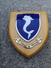 Plaque armée militaire 12e régiment de cuirassiers cavalerie