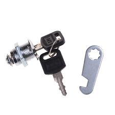 Home hardware 2 Keys Cam Lock Cabinet Mailbox Drawer Cupboard Lock GZ