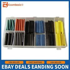 125 Pc Rubber Grommet Firewall Wire Gasket Solid Hole Plug Assortment Set w/Box