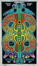 Paul Butterfield Blues Band POSTCARD Mike Bloomfield Fillmore BG166 Gregg Irons