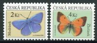 Czech Republic Butterflies Stamps 2020 MNH Butterfly Insects 2v Set
