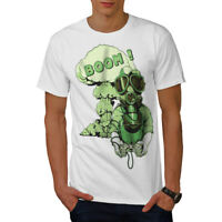Wellcoda Gaming Boom Toxic Geek Mens T-shirt,  Graphic Design Printed Tee