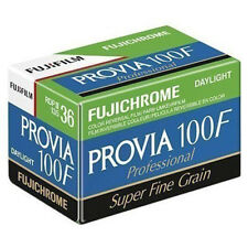 1x Fuji Provia 100F Professional RDP III 135-36 35mm Colour Slide Film - 36 Exp
