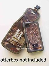 Belt CLip Holster iPhone 5/5S For Otterbox Armor Case With Metal Clip - Camo/Oak