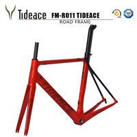 T800 OEM Full Carbon Fiber Road Bike Frames Bicycle Frameset Fork Seatpost BSA