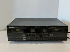 Pioneer CT-W900R Dual Cassette Deck Recorder Player LIMITED TESTING!