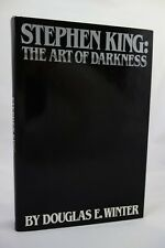 Stephen King: Art of Darkness by Douglas E. Winter (Signed) 1st edition- High Gr