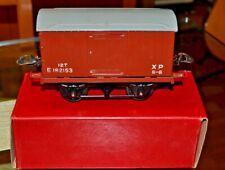 Vintage Boxed Hornby Trains O Gauge Goods Van No. 1; Near Mint