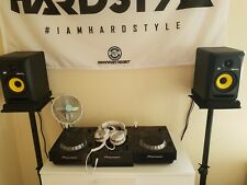 Pioneer CDJ 350/ DJM 350 / Flight Case/Headphone/ 2x KRK RP5G3W Rokit/ +Stands+F