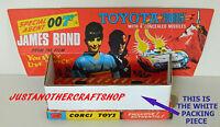 Corgi Toys 336 Inner Packing Piece for James Bond Toyota 2000GT from 1967