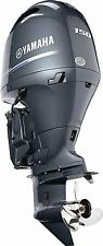 """New! model F150XB New Yamaha 150hp Outboard 4 Stroke Outboard 25"""" shaft length"""