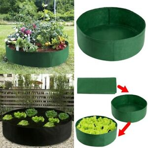 Raised Plant Bed Garden Flower Planter Elevated Ablex Flower Planting Bag Yard