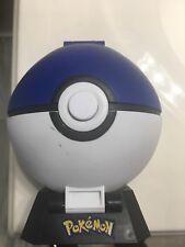 Pokemon Mini Playset 2010 Blue Pokeball Jakks