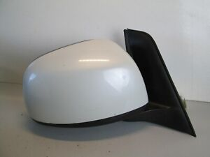 2007-2013 SUZUKI SX4 PASSENGER RIGHT POWER MIRROR 3-Wire OEM Z7T WHITE PEARL
