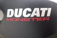 2 x Ducati Monster logo Sticker Vinyl Motorbike monster custom color welcome!