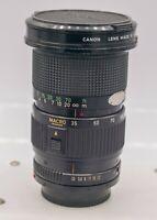 Canon FD 35-105mm F3.5 Zoom Lens AE-1 Program A-1 F-1 Cameras *Read*