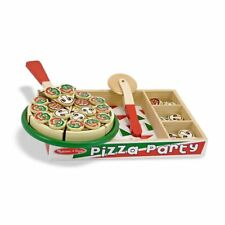 Melissa and Doug Pizza Party Wooden Set #167 #0167 New Sealed