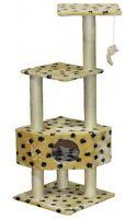 "Go Pet Club 50"" Cat Tree Condo Scratcher Post Pet Bed Furniture F84 Cat Tree NEW"