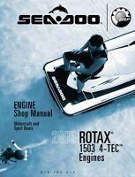 Sea-Doo 2005 4-Tec Rotax 1503 Engine Service Shop Repair Manual 219100214