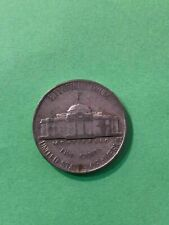 1944p 5c COIN JEFFERSON MEMORIAL SILVER NICKEL FIVE CENTS NO RESERVE AUCTION