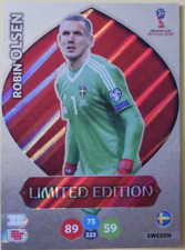 Panini Adrenalyn Fifa World Cup 2018 Limited Edition - ROBIN OLSEN SWEDEN RARE