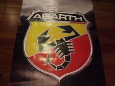 Fiat 500 F L 600 850 124 1100 1200 1500 Abarth poster microcar classic vintage