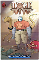 ATOMIC ROBO, NM, FCBD, Robot, Dinosaurs, 2012, more FCBD in store