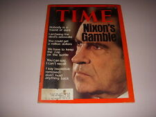 TIME Magazine, May 13, 1974, RICHARD NIXON Cover, AFRICAN FAMINE ARTICLE!