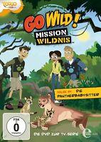GO WILD! MISSION WILDNIS - FOLGE 24: DIE PANTHERBABYSITTER   DVD NEU