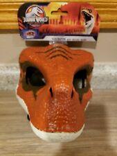 Jurassic World Velociraptor Tiger Legacy Orange Dinosaur Dino Rivals Dragon Mask