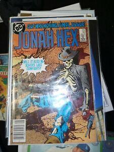 Jonah Hex #92 FN; key last issue