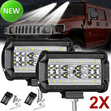 5'' 168W Led Lights Bar Cree Spot Flood Combo Work Lamp Car UTE SUV ATV Offroad