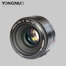 Yongnuo 50mm F1.8  Auto Focus Standard Large Aperture Lentes para Canon EF EOS