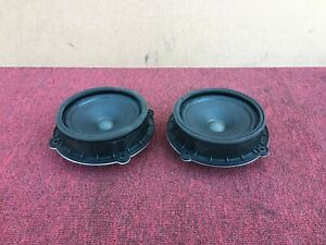 HYUNDAI GENESIS SEDAN 2015-2018 OEM REAR DOOR SPEAKERS SPEAKER (PAIR)